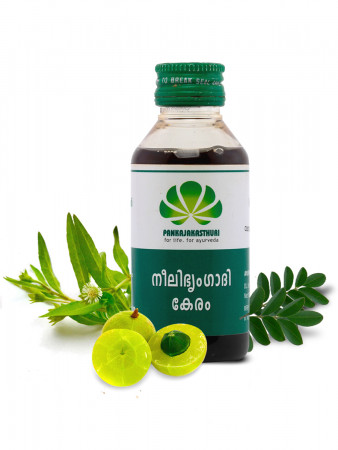 Neelibhringadi Keram - Ayurvedic Hair Oil For  Hair Growth