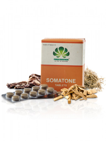Somatone Tablets - Ayurvedic Medicine For Hypertension