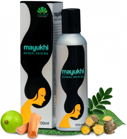 Mayukhi Herbal Hair Oil - Ayurvedic Hair Oil For Premature Greying