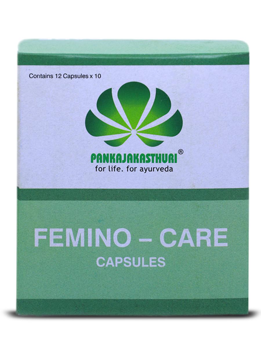 Femino Care Capsules - Ayurvedic Medicine For  Menstrual Disorders