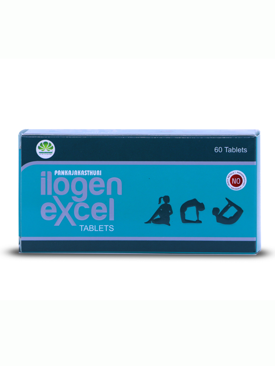 Ilogen Excel Tablets - Ayurvedic Medicine For Diabetes Mellitus
