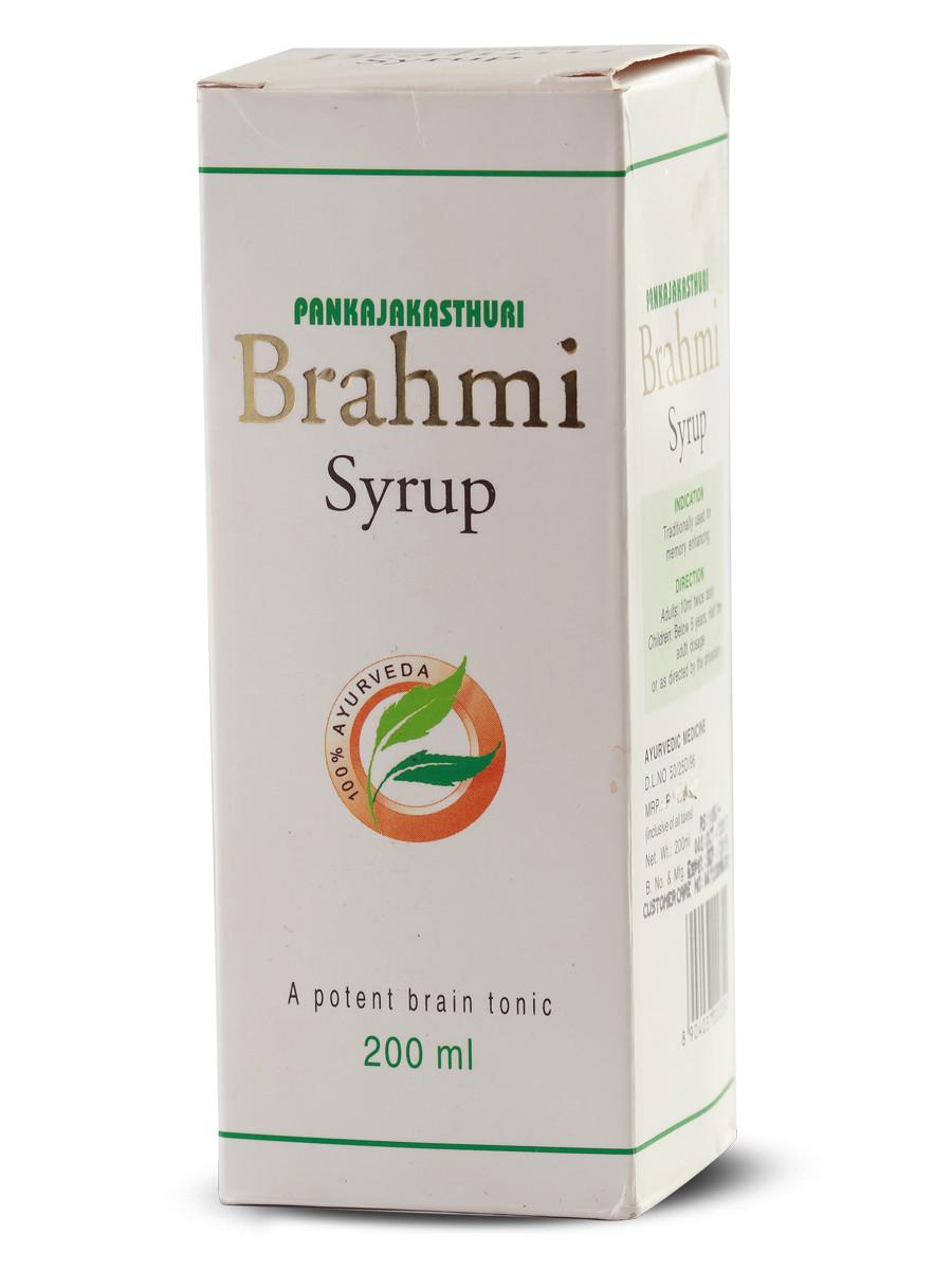 Brahmi Syrup - Ayurvedic Medicine For  Enhancing Memory