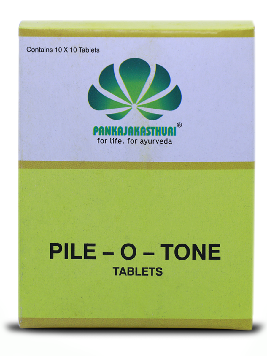 Pile-O-Tone Tablets - Ayurvedic Medicine For Fistula