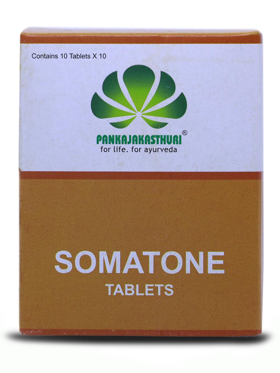 Somatone Tablets - Ayurvedic Medicine For Hypertension