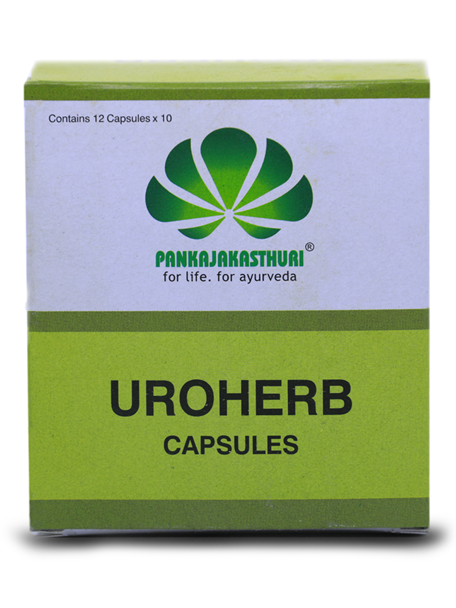 Uroherb Capsules - Ayurvedic Medicine For Urinary Track Infection